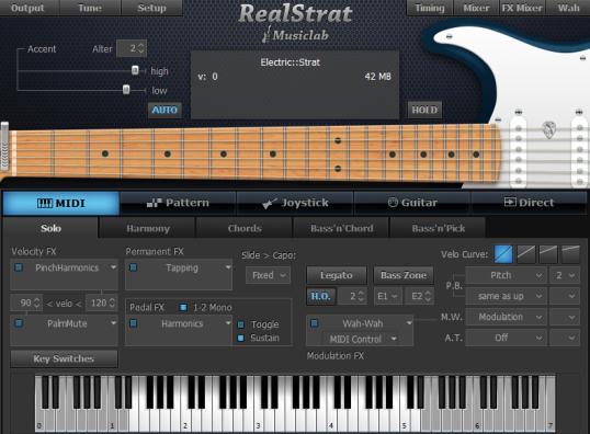دانلود وی اس تیMusicLab - RealStrat 3.0.1